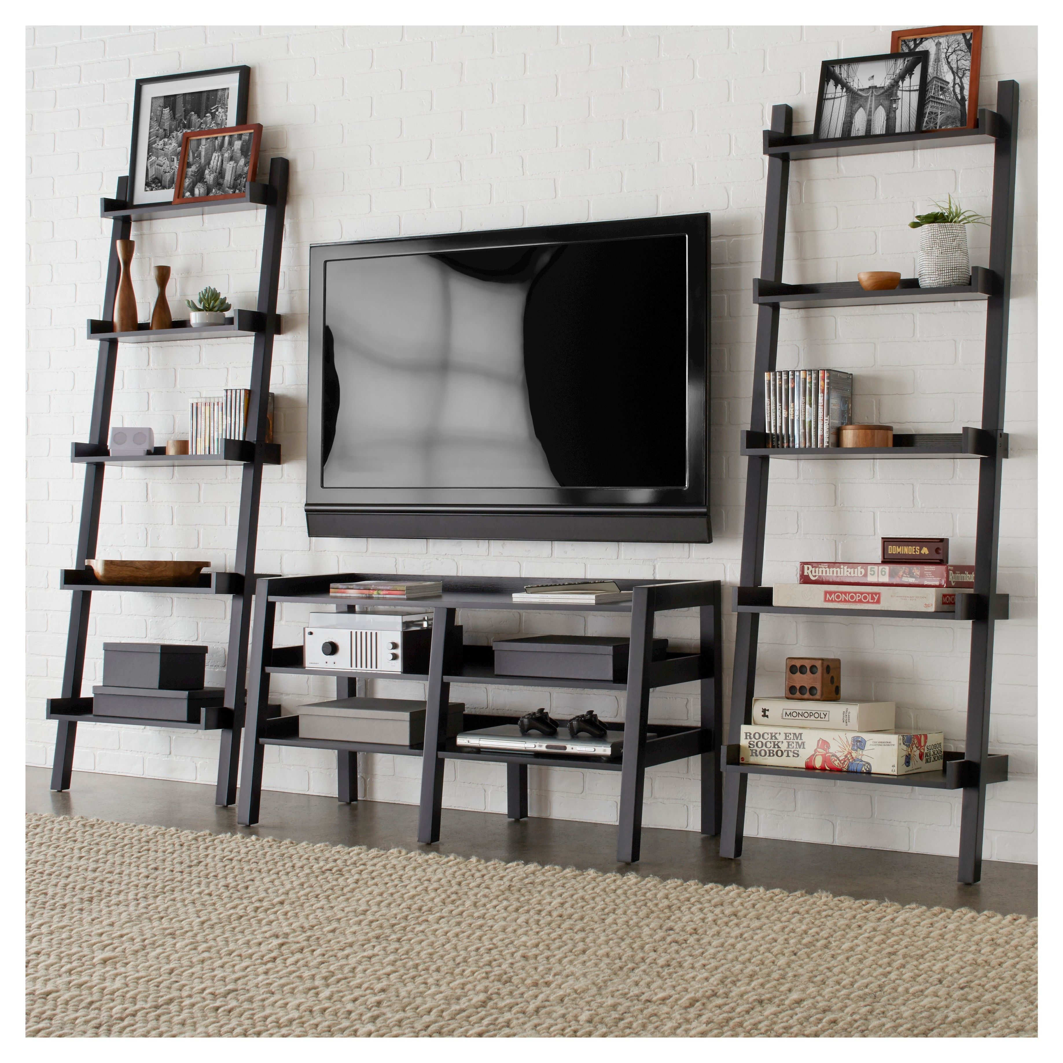 Lowry 46 Quot Leaning Tv Stand Gray Blu Dot Home Tv