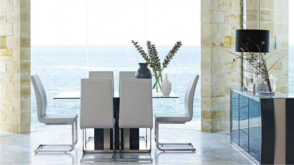 Alina 7 Piece Dining Setting Furniture Room Outdoor Harvey Normandining