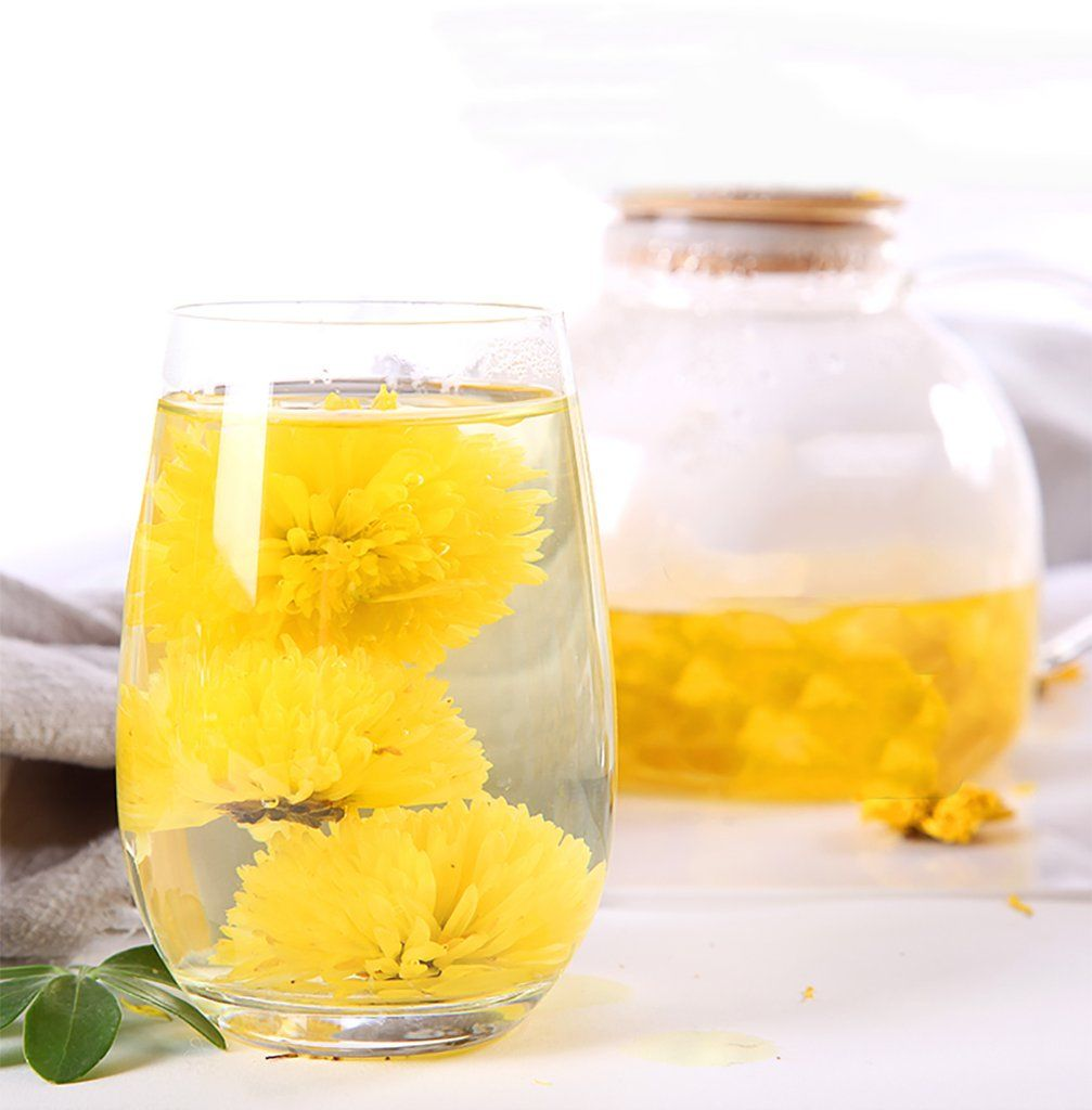 Blooming Flower Tea Chrysanthemum Tea Teadaw Chrysanthemum Tea Blooming Flower Tea Flower Tea