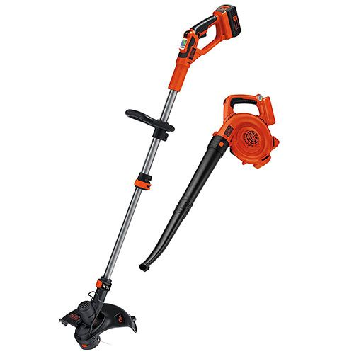 9 Black Decker Lcc140 Trimmer And Sweeper Combo Kit Combo Kit Trimmers