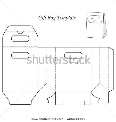 Box Template With Lid Blank Vector Illustration Isabelita