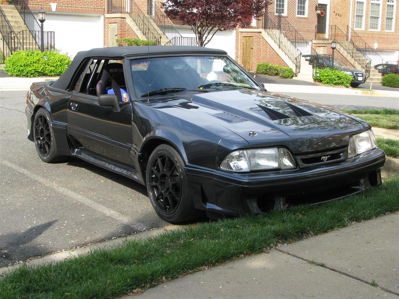 fox body convertible wheel pics page 2 ford mustang. Black Bedroom Furniture Sets. Home Design Ideas
