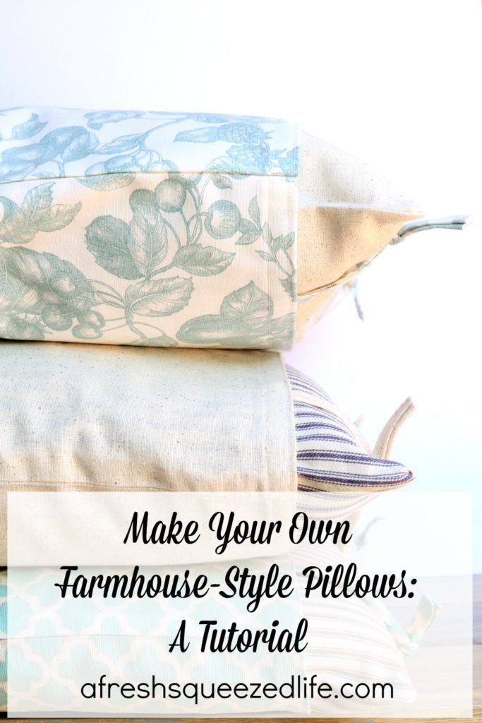 Farmhouse style pillows a tutorial farmhouse style pillows and making your own farmhouse style pillows is simpler than you think a sewing machine sewing pillowsdiy solutioingenieria Images