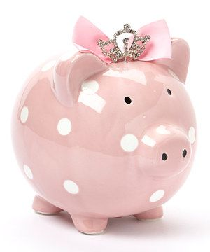 Pink Princess Piggy Bank By Beriwinkle Zulily