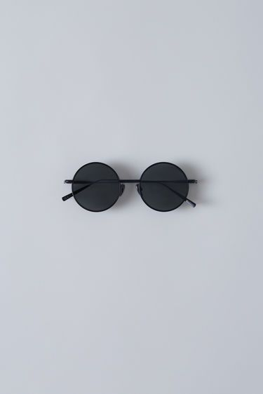 Acne Studios, Scientist, Black Satin/Black, 375x