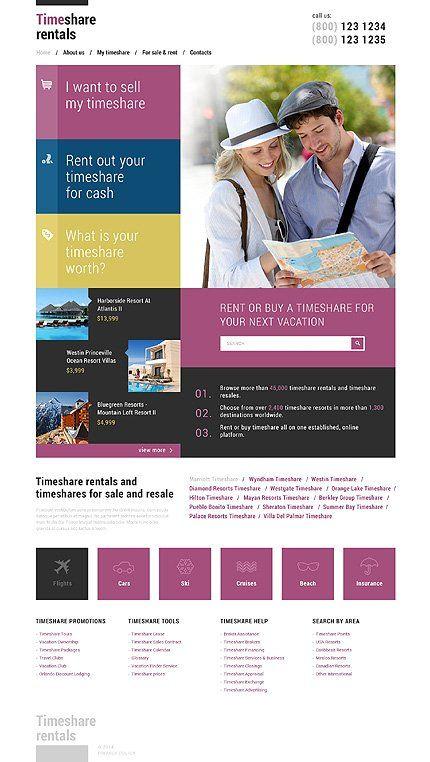 Pin by WebmaisterPro on Website Templates | Pinterest | Template
