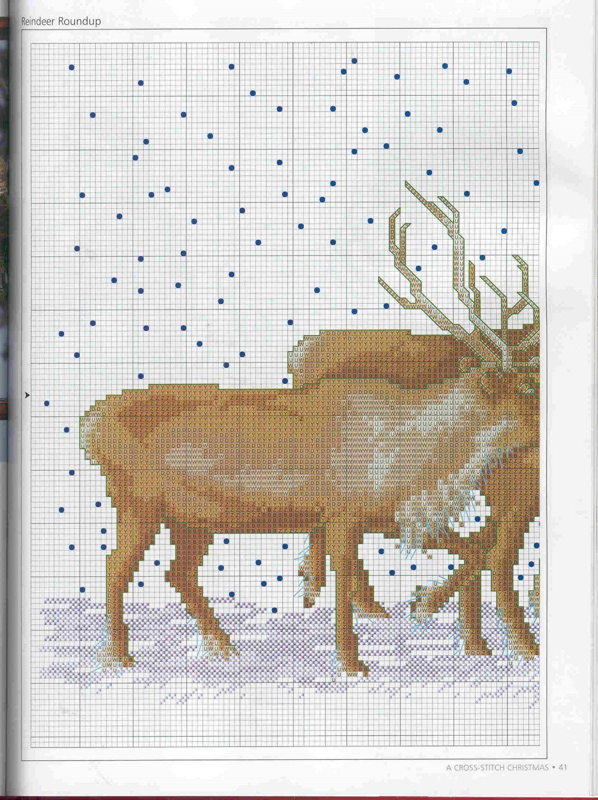 Cross Stitch *♥* Santa 1/3   Punto de cruz - Navidad   Pinterest ...