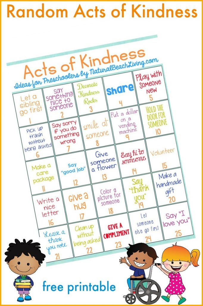 101 Of The Best Random Acts of Kindness Ideas Kindness