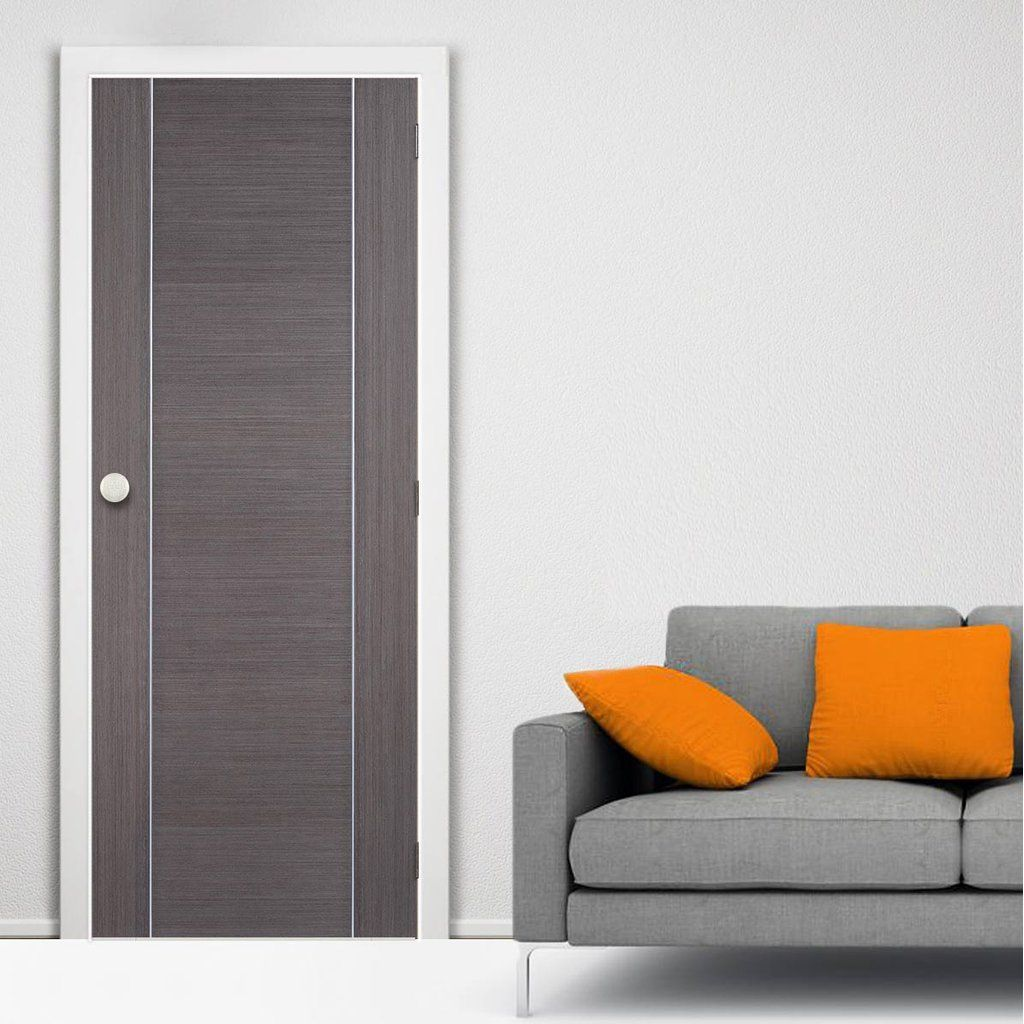Bespoke Fire Door Chocolate Grey Alcaraz 1 2 Hour Fire Rated Prefinished Fire Rated Doors Fire Doors Interior Sliding Barn Doors