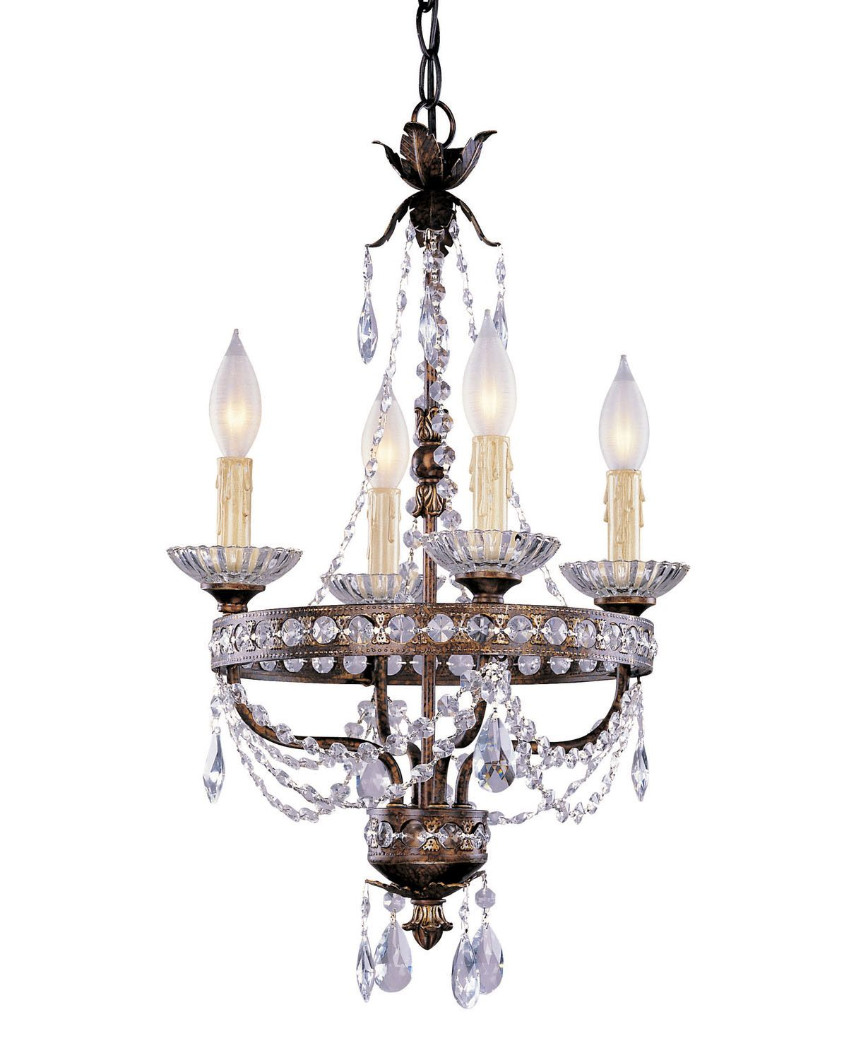 Four Light Traditional Mini Chandelier