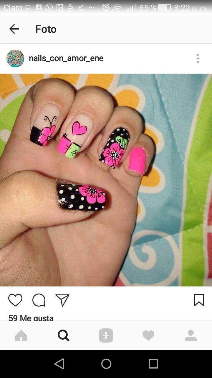 Pin by Elizabeth Castellano on manicure y pedicure | Pinterest ...