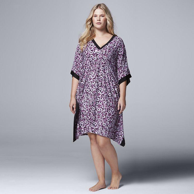 Plus Size Simply Vera Vera Wang Pajamas: Saturday Slumber