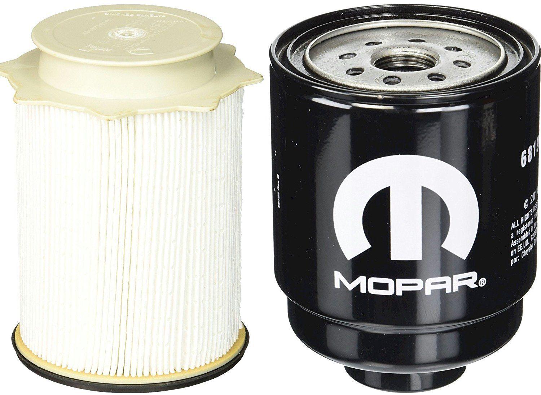 hight resolution of dodge ram 6 7 liter diesel fuel filter water separator set mopar oem price 47 54