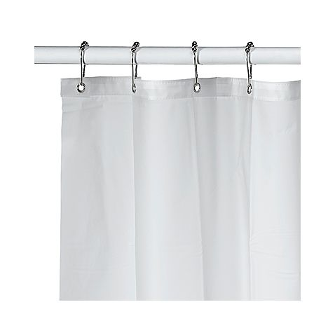 This Extra Long Shower Curtain Liner Is Friendly To The