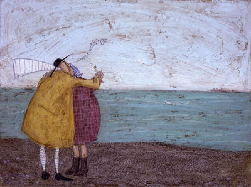 """Sweet Nothings"" Sam Toft; another cute picture with appealing colors"