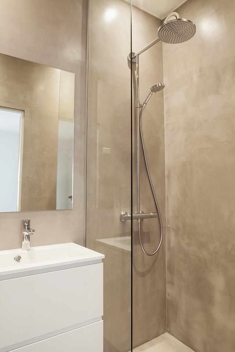 Inspiraatio Mikrosementti Kylpyhuoneessa Bathroom