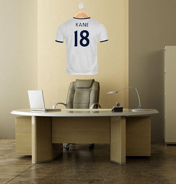 FSS4 Tottenham Football shirt wall sticker by ArtFeverUK ...