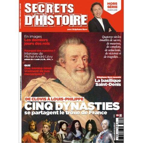 magazine secrets d 39 histoire hors s rie les rois de france si l 39 on veut tre exact la liste. Black Bedroom Furniture Sets. Home Design Ideas