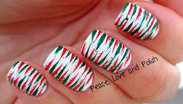 50 Amazing And Easy Christmas Nail Designs And Nail Arts Christmas Celebration All About Christmas Christmas Nail Designs Christmas Nails Easy Christmas Nail Art Designs