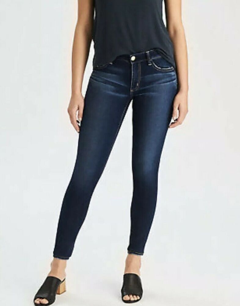 Womens High Waisted Skinny Stretch Jeans Jegging Shorts Capri Cropped Zip Pants