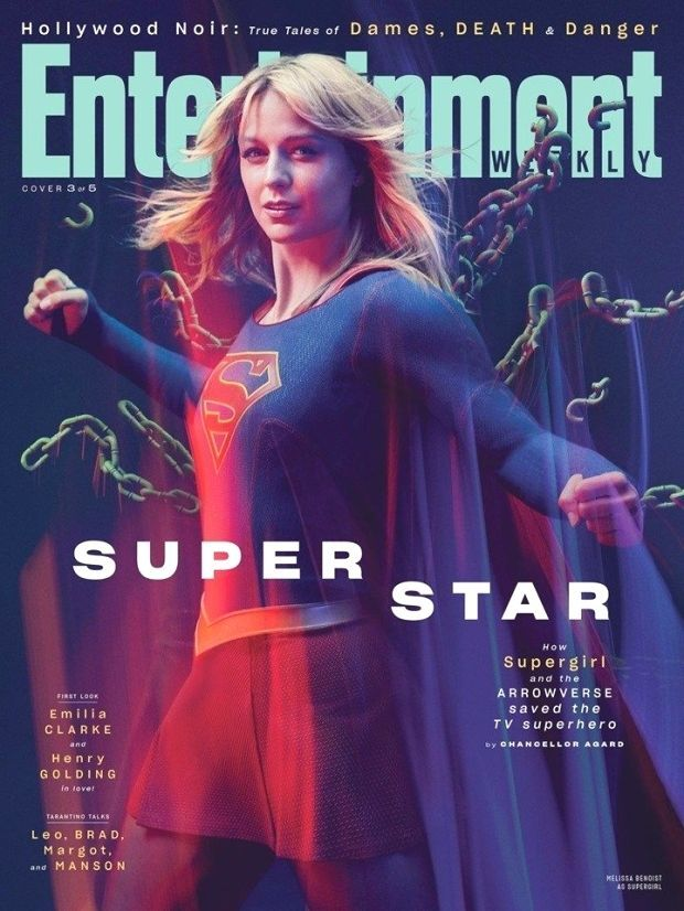 Supergirl on the Cover of New