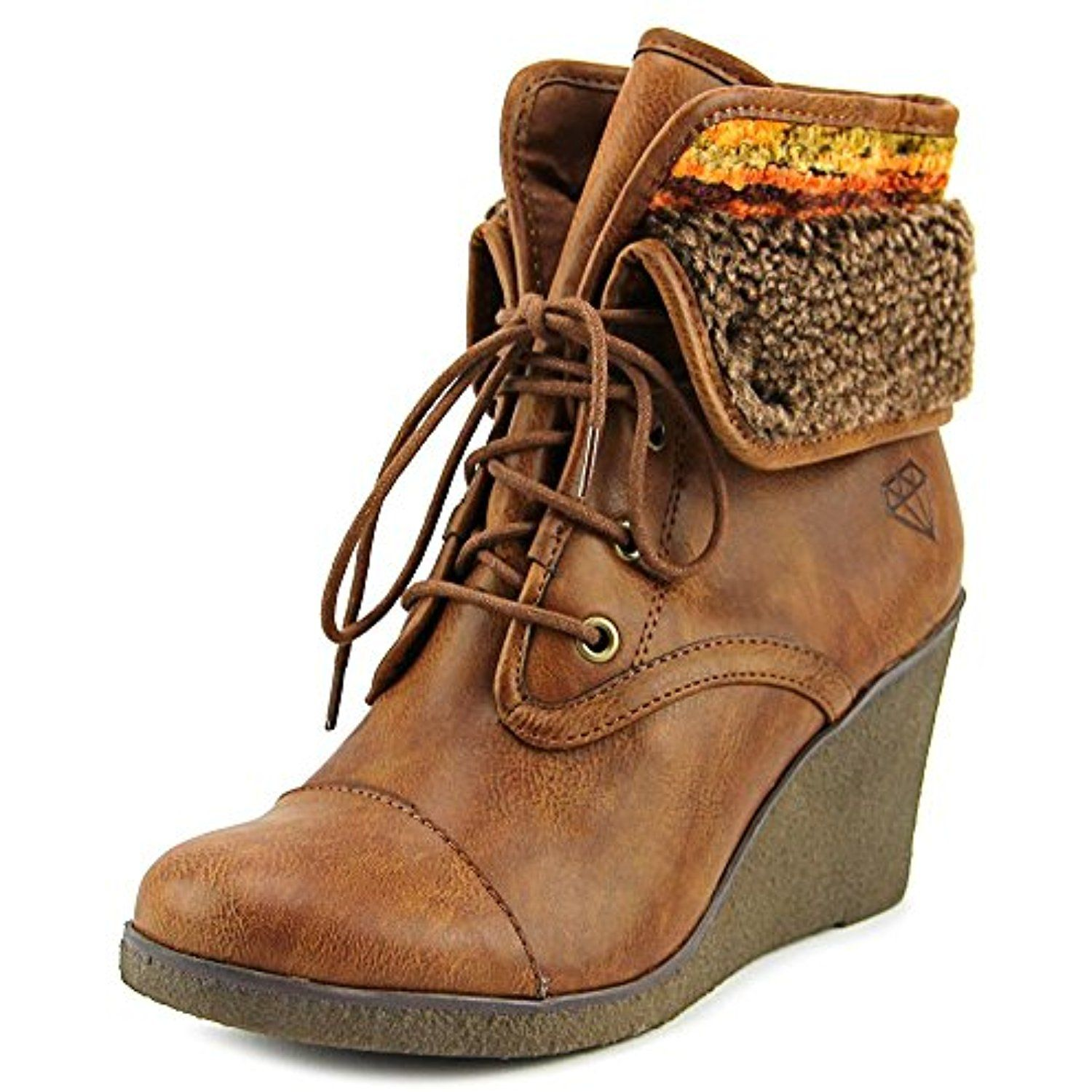 Womens Sabra Round Toe Ankle Fashion Boots