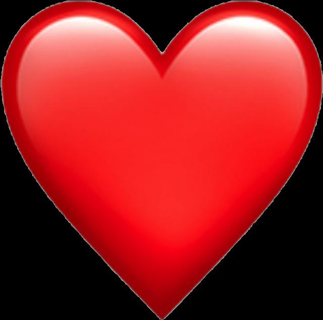 Ios Emoji Emoji Iphone Ios Heart Hearts Spin Edit Iphone Red Heart Emoji Png Download Transparent Png Image Heart Emoji Stickers Ios Emoji Heart Emoji