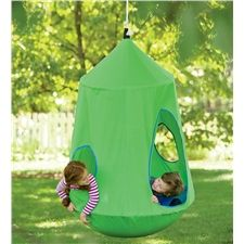 Magic Cabin - Just discovered this wonderful store for children, So many unique items. HugglePod™ HangOut Indoor/Outdoor Hanging Chair