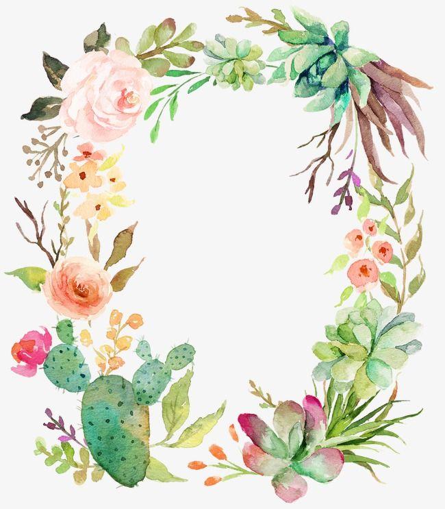 Une Couronne De Fleurs Ilustracoes Florais Guirlanda Floral