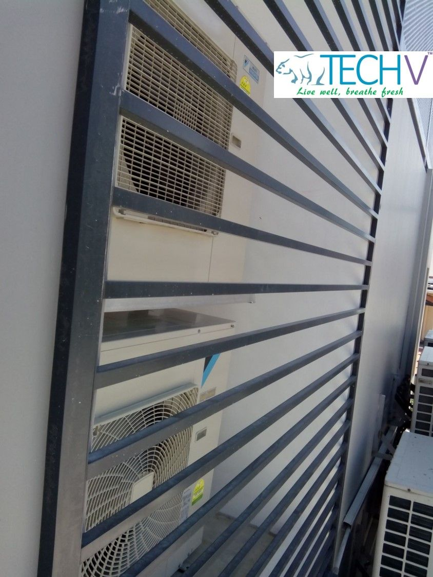 DID YOU KNOW? It is important that the outdoor condenser