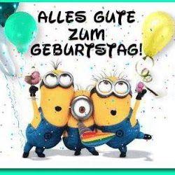 Minions Wünsche Ihnen Ein Alles Gute Zum Geburtstag