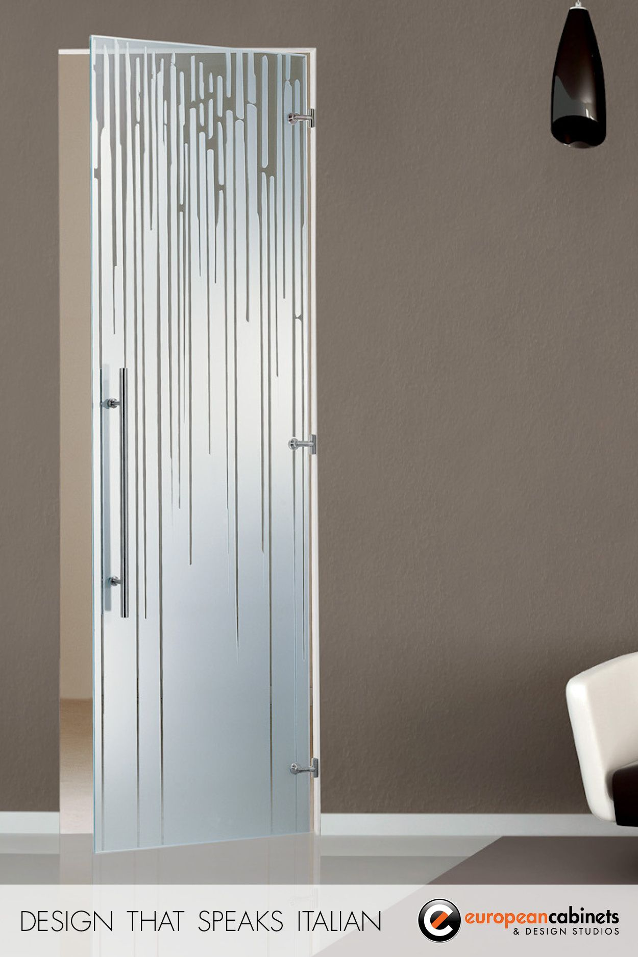 Artide is a beautiful glass door by casali perfect for home or office use
