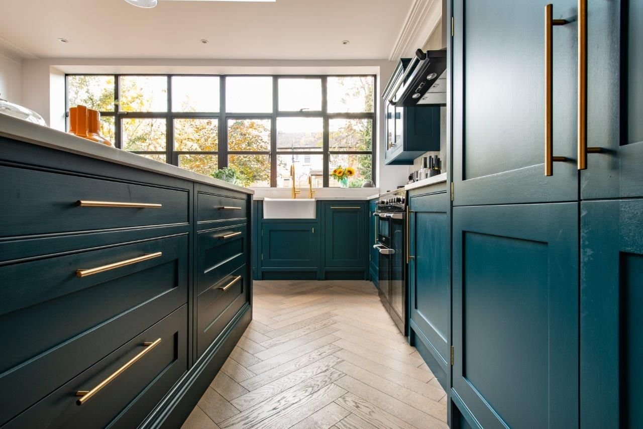 Best We Recently Designed And Fitted This Bespoke Kitchen For A 640 x 480