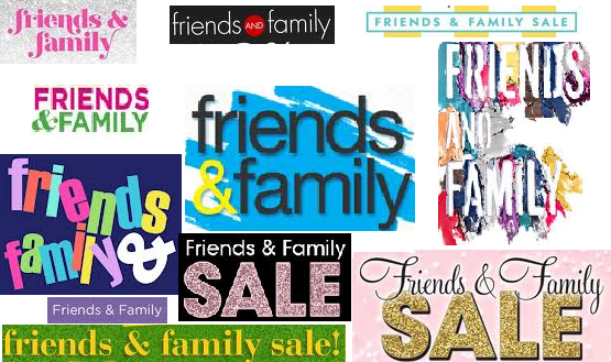 10 Friends & Family Sales on this weekend's Sales Cheat Sheet! http://fave.co/XyBHab