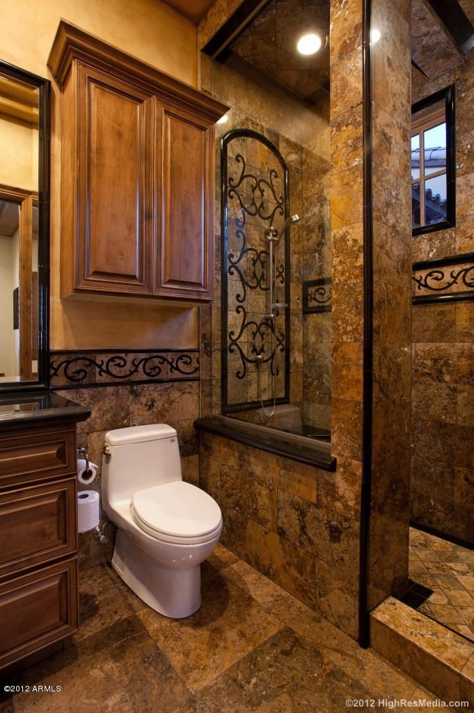 Tuscan bathroom detalles en casa pinterest guest for Tuscan bathroom ideas