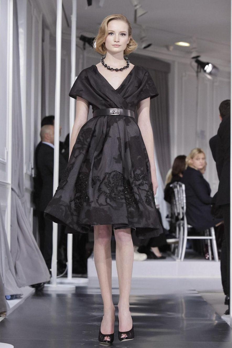 Little Black dress - Christian Dior Haute Couture