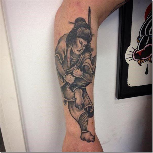 Tattoo Verb: 55 Samurai Tattoo Options And Get Impressed
