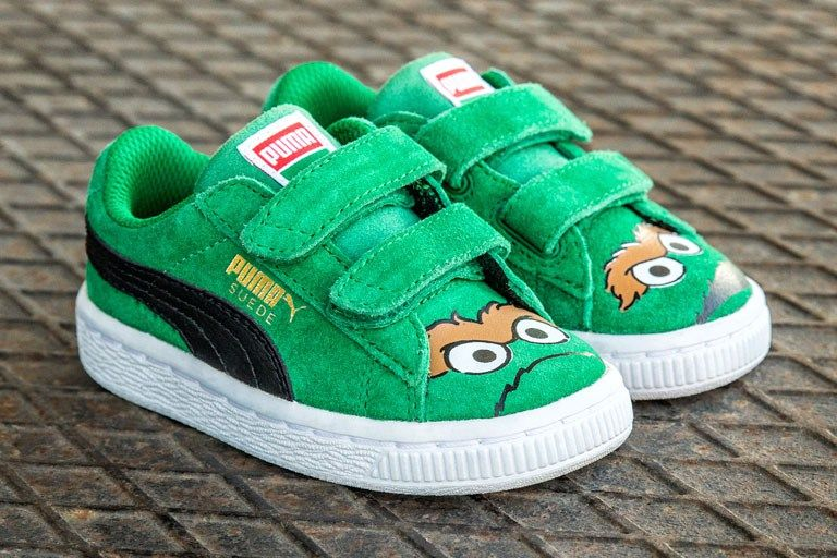 hypebeastkids: PUMA Introduces Sesame Street to the Shoe