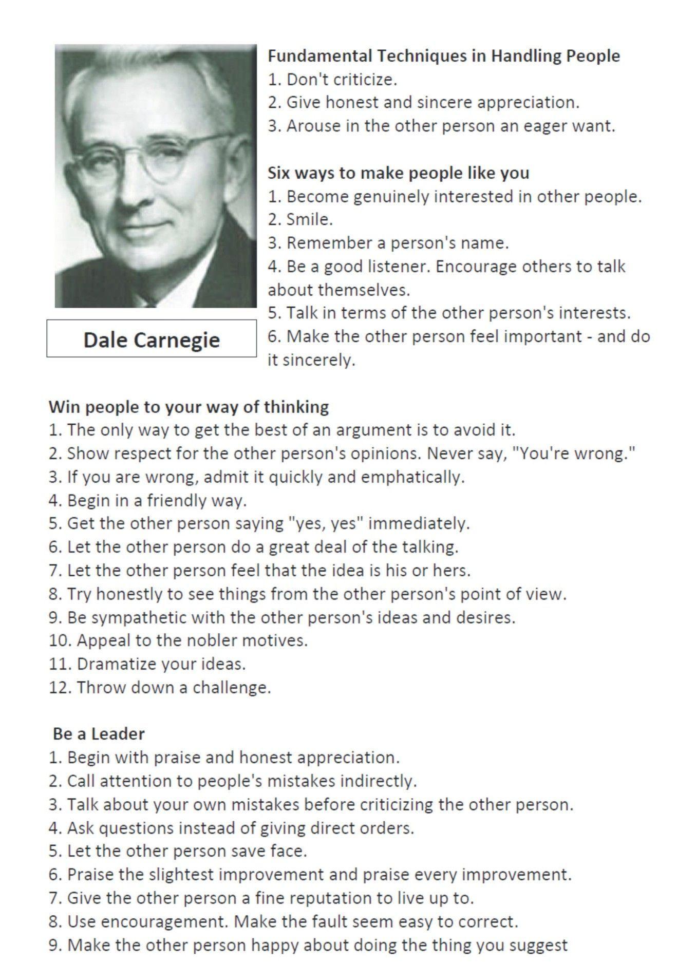 {{Dale CarnegieDale Carnegie AudiobookDale Carnegie