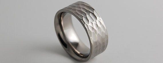 Mens Titanium Ring   Wedding Band  Promise Ring  by RomasBanaitis