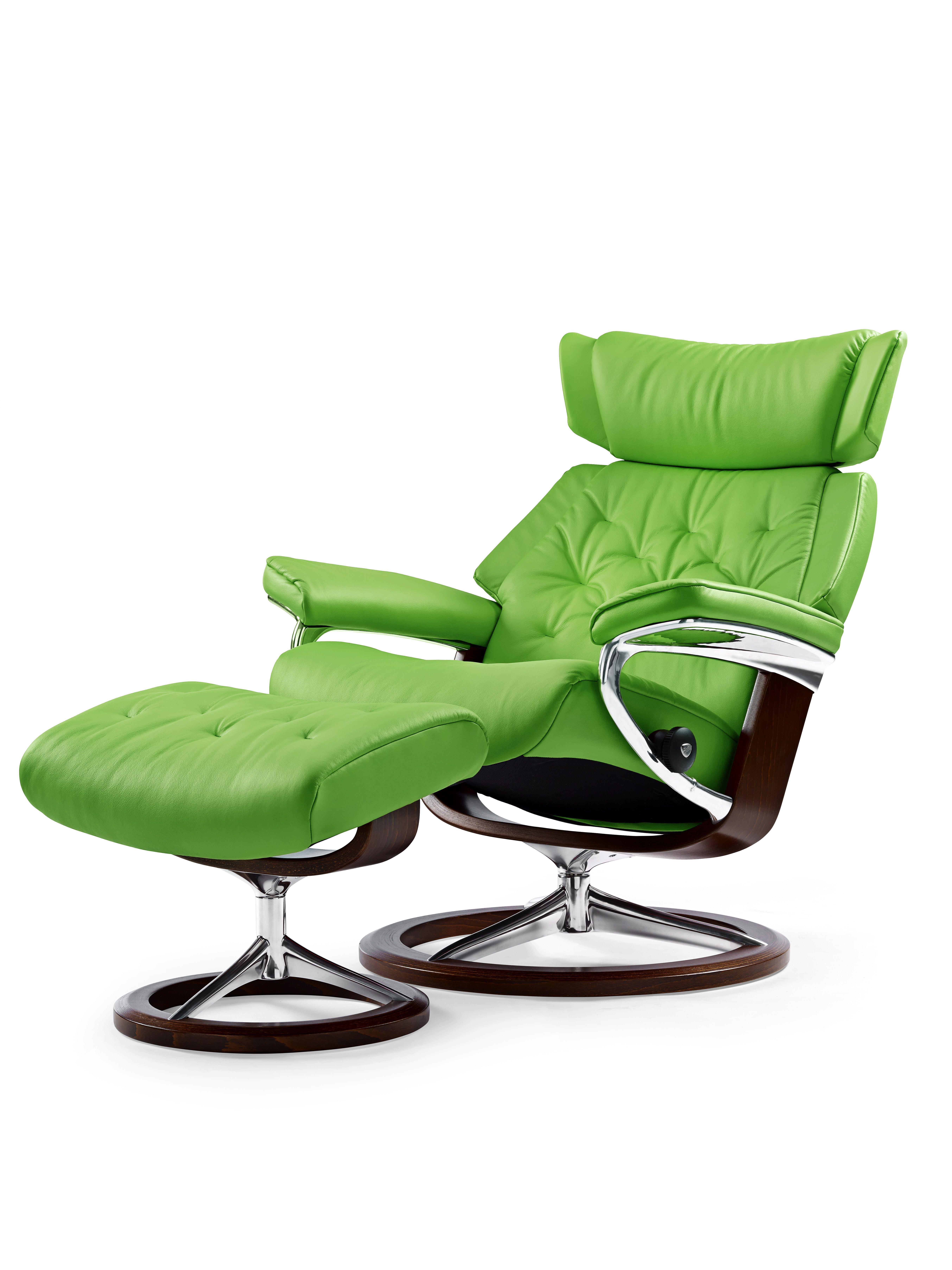 Der Leichte Stressless Skyline Sessel Hat Ein Spezielles Retro Design. Mit  Balance Adapt Wird Die Sitzposition Automatisch Eingestellt.