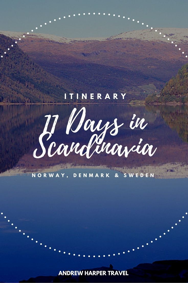 While the majority of the Scandinavian Peninsula is in the frigid Arctic Circle, the southernmost cities of Copenhagen, Oslo and Stockholm are blessedly temperate. This 11-day itinerary allows you to explore the fairy-tale like castles and scenery of these magnificent destinations.