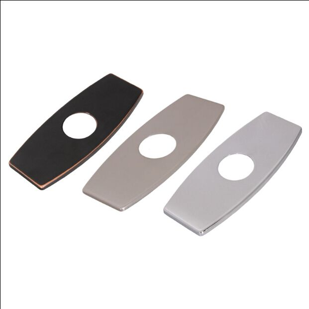 Free Shipping New Brush Nickel Black Chrome Finish 8 Bathroom Kitchen Sink Faucet Hole Cover Deck Plate Escutc Sink Hole Covers Rectangle Plates Covered Decks