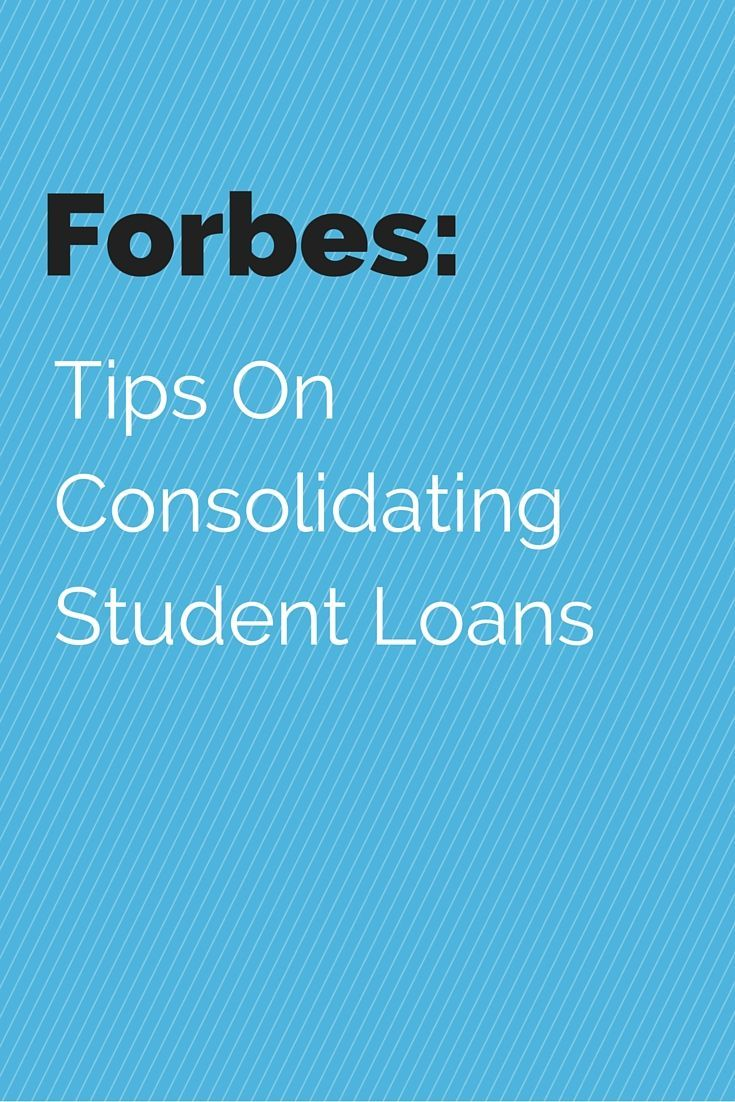 A great read by Forbes on the benefits of student loan consolidation. At  LendEDU, we make it super easy to save a ton of money! money ideas, ...