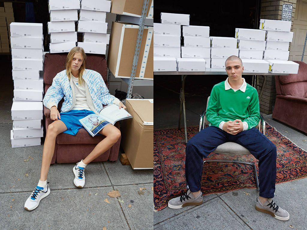 Madonna's Son Rocco Ritchie Makes His Modeling Debut With Adidas