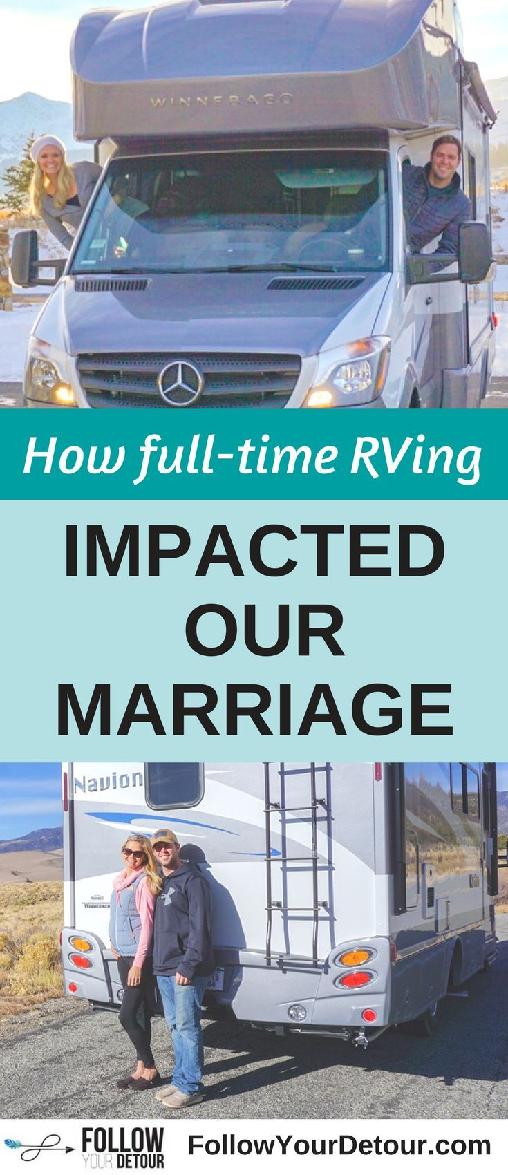 Photo of Taking Your Marriage on the Road: How Full-Time RVing Impacted Our Relationship – Follow Your Detour