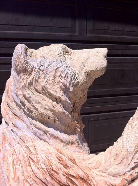 Bear wooden sculptures hledat googlem woodcarving