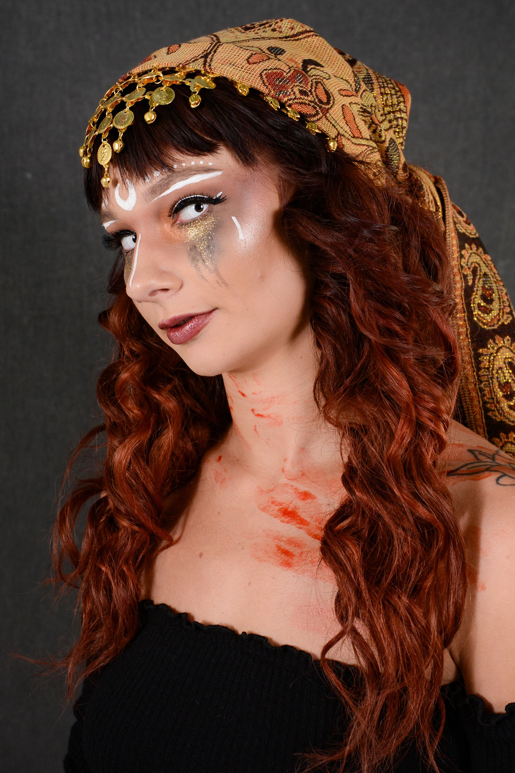 Amazing DIY Halloween makeup and costume by cosmetology