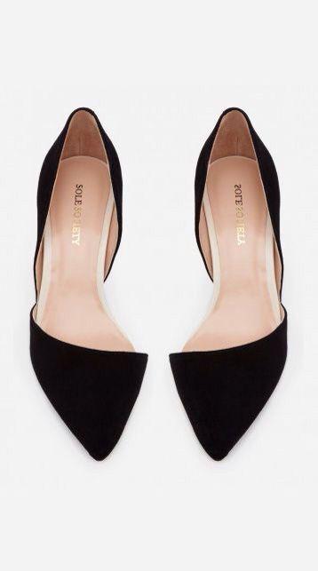 0ed49c2e515 Black Flats Dressy Flat Shoes