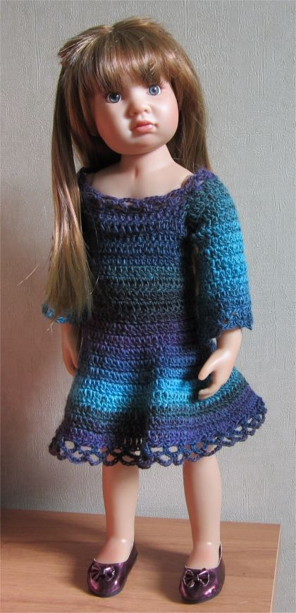 Passion Dolls: A dress for Olivia | 18 inch doll clothes | Pinterest ...